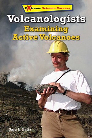 Volcanologists Examining Active Volcanoes
